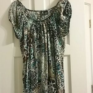 New Directions multicolor tunic